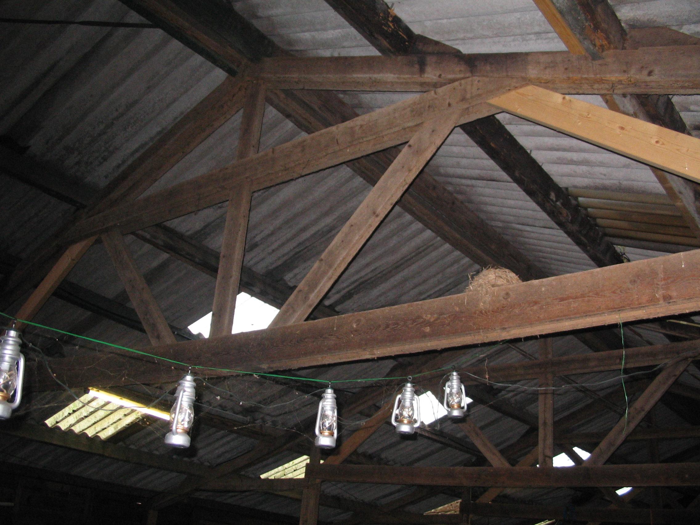 Wonderbaar Houten dakspanten en gordingen controleren - Bouwadviesbureau Bakker XO-88